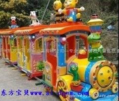 豪华动物轨道小火车