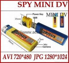 Lighter DVR Mini USB Spy Hidden Pinhole Camera Portable Video & Audio Recorder