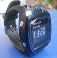Wrist Watch GPS Tracker, Support SMS Tracking & SOS function  4
