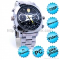 HD720P Waterproof Spy Watch Camera Hidden Covert Video Recorder OEM Manufacturer