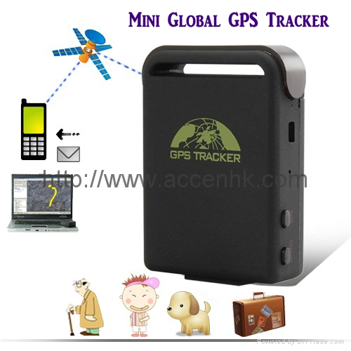 Upgrade TK102 GPS Tracker For Tracking on Mobile Phone by SMS W/ Google Map Link 1