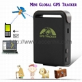 Upgrade TK102 GPS Tracker For Tracking