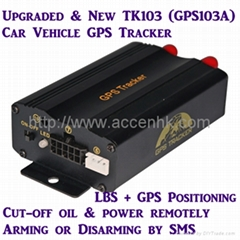 TK103A Global GSM Car Vehicle GPS Tracker Real-time online Google Map tracking