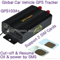 Upgraded TK103B Car Vehicle GPS Tracker W/ Cut-off and Resume Oil & Power by SMS