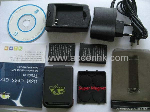 GPS102 Global GSM SMS GPS Tracker For Car Person Child Elderly Disabled Tracking 5