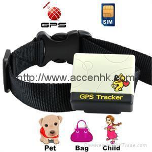 Pet Surveillance GPS Tracker support non-server accurate tracking with low cost