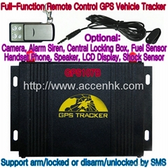 GPS107B All-In-One GPS Vehicle Tracker W/ Remote Control & 2-Way Communication