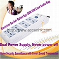 Power Socket Outlet Spy GSM Audio Bug