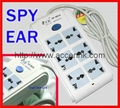 Power Socket Outlet Spy GSM Audio Bug Covert Voice Listening Transmitter Monitor