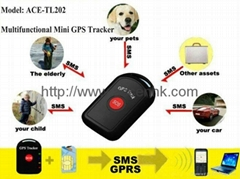 Mini GPS Tracker with SOS Alert & 2-way