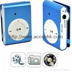 Clip MP3 Mini Pinhole DVR Camera Support Audio & Video Recording and 8GB TF Card
