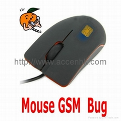 USB Optical Mouse GSM Spy Audio Bug Mobile Ear Listening Surveillance Device