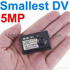 HD 5.0MP Thumb-Size Mini DV Camera Spy Video Recorder PC Webcam DVR 1280x960