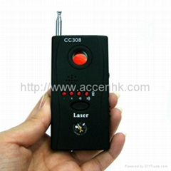 Mini RF Bug Detector Spy Hidden Wireless Camera Locator GSM Eavesdrop Bug Finder