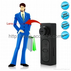 Mini Button DVR Spy Pinhole Camera Hidden USB Voice Recorder HD 720x480 30fps