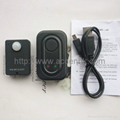 Mini Wireless PIR Infrared Sensor Detector GSM Alarm System Anti-theft PIR MP. Alert A9