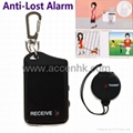 Electronic Anti-Lost Alarm Keychain Pets Child Luggage Security Reminder Finder