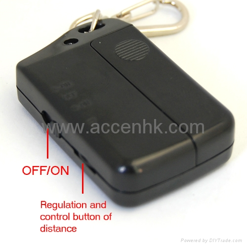 Electronic Anti-Lost Alarm Keychain Pets Child Luggage Security