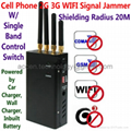 4 Antenna Portable Cell Phone 3G WIFI