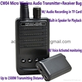CW04 Mini Wireless Audio Transmitter