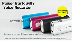 Power Bank Voice Recorde