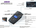 Single Line Voice Logger SD Card Digital Telephone Voice Recorder Audio Playback