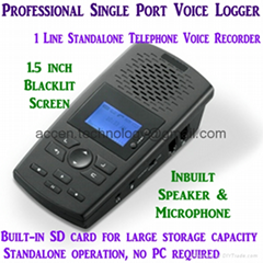 Single Line Voice Logger