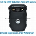 1080P Police Body Worn Audio Video