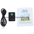 Mini A8 Quad Band GSM GPRS GPS Tracker Kids Pet Personal Locator W/ SOS Button