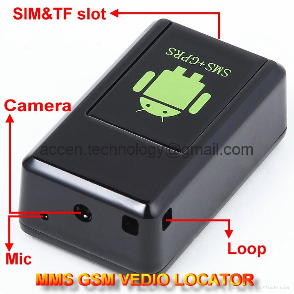 GF-08 GSM MMS Video Photo Transmit Camera GPS Tracker ...