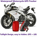 Waterproof Motorcycle GSM GPRS GPS Tracker LBS Locator 9~40V Support Alarm Siren 1
