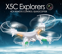 X5C 2.4GHz 4CH 6-Axis GYRO RC Quadcopter Drone 2MP Flying Camera 360° Eversion