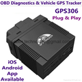 GPS306 OBD II Vehicle GPS Tracker Mini