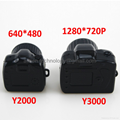 Wholesale Y2000 Y3000 Thumb Size Mini DVR Camera Smallest Sports Spy Video Recorder PC Webcam