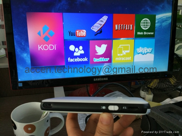 M6 Pocket DLP LED Smart Projector W/ Android 4.4 OS 1G RAM+8GB ROM TV Box 13