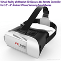 Google Cardboard VR Box Headset Virtual Reality 3D Glasses For Android iOS Phone