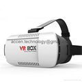 Google Cardboard VR Box Headset Virtual Reality 3D Glasses IMAX For Android iOS Phone