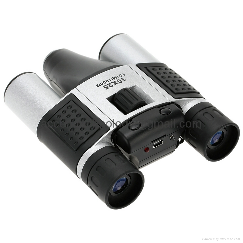 DT08 Binocular Built-in Digital Telescope Camera Video Recorder 10x25 101M/1000M 3