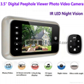 "3.5"" Digital Door Peephole Viewer Camera"
