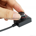Mini Spy Covert Shirt Button Camera Super 2 Meter Line USB Cable Video Recorder