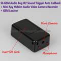 S6 Mini GSM Audio Ear Bug W/ Hidden