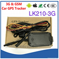 3G WCDMA GSM Car GPS Tracker Locator LK210-3G Cut-off & Resume Oil & Power Remotely By SMS