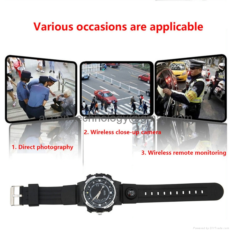 Y30 8GB 720P Wireless WIFI P2P IP Hidden Covert Spy Watch Video Camera DVR Recorder IR Night Vision Motion Detection Security DVR Remote Monitoring on Smartphone