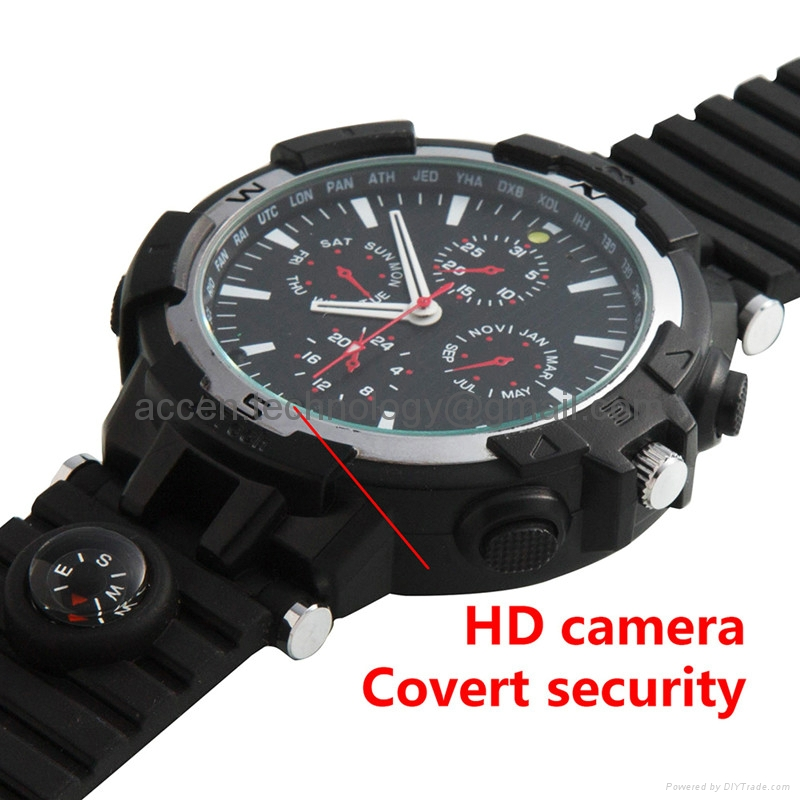 Y31 16GB 720P Wireless WIFI P2P IP Spy Watch Video Camera DVR Recorder IR Night Vision Motion Detection Security DVR Baby Nanny Remote Intelligent Monitoring on Smartphone