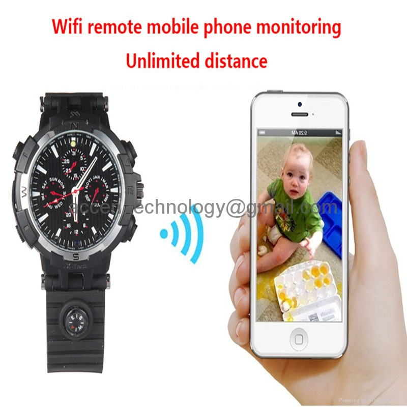 Y31 720P WIFI P2P Watch Spy Hidden Video Camera Recorder Baby Monitor