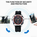 8GB/16GB/32GB 720P WIFI P2P Spy Camera Watch Recorder iOS Android App Wireless Remote Monitoring DVR IR Night Vision LED Floodlight Security Surveillance DVR Baby Monitor Nanny Camera