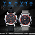 8G WIFI P2P Spy Camera Recorder Watch