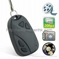Mini Car-Key DVR with Hidden Camera for covert evidence video recording 1