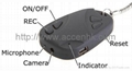 Mini Car-Key DVR with Hidden Camera for covert evidence video recording