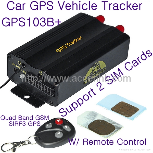 gps103b remote control car gps vehicle tracker w central. Black Bedroom Furniture Sets. Home Design Ideas